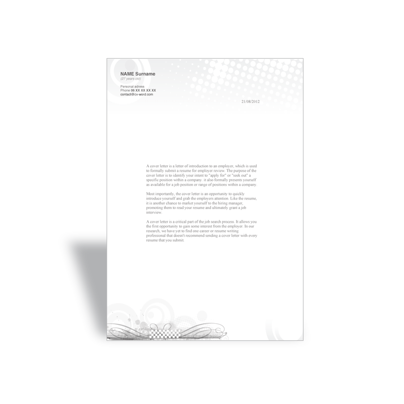 Download word cover letter template director marketing