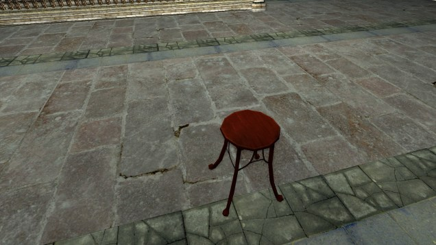 red stool 3