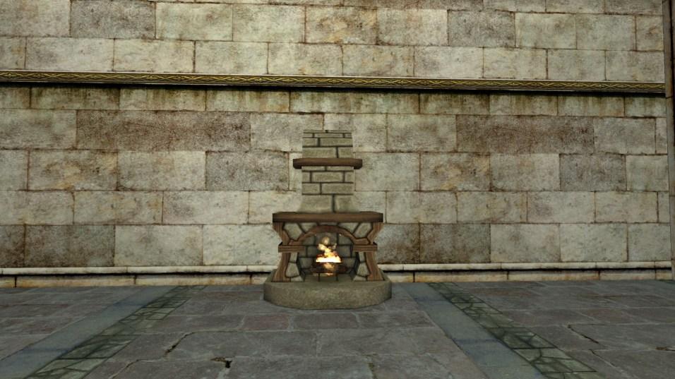 small stone fireplace 5