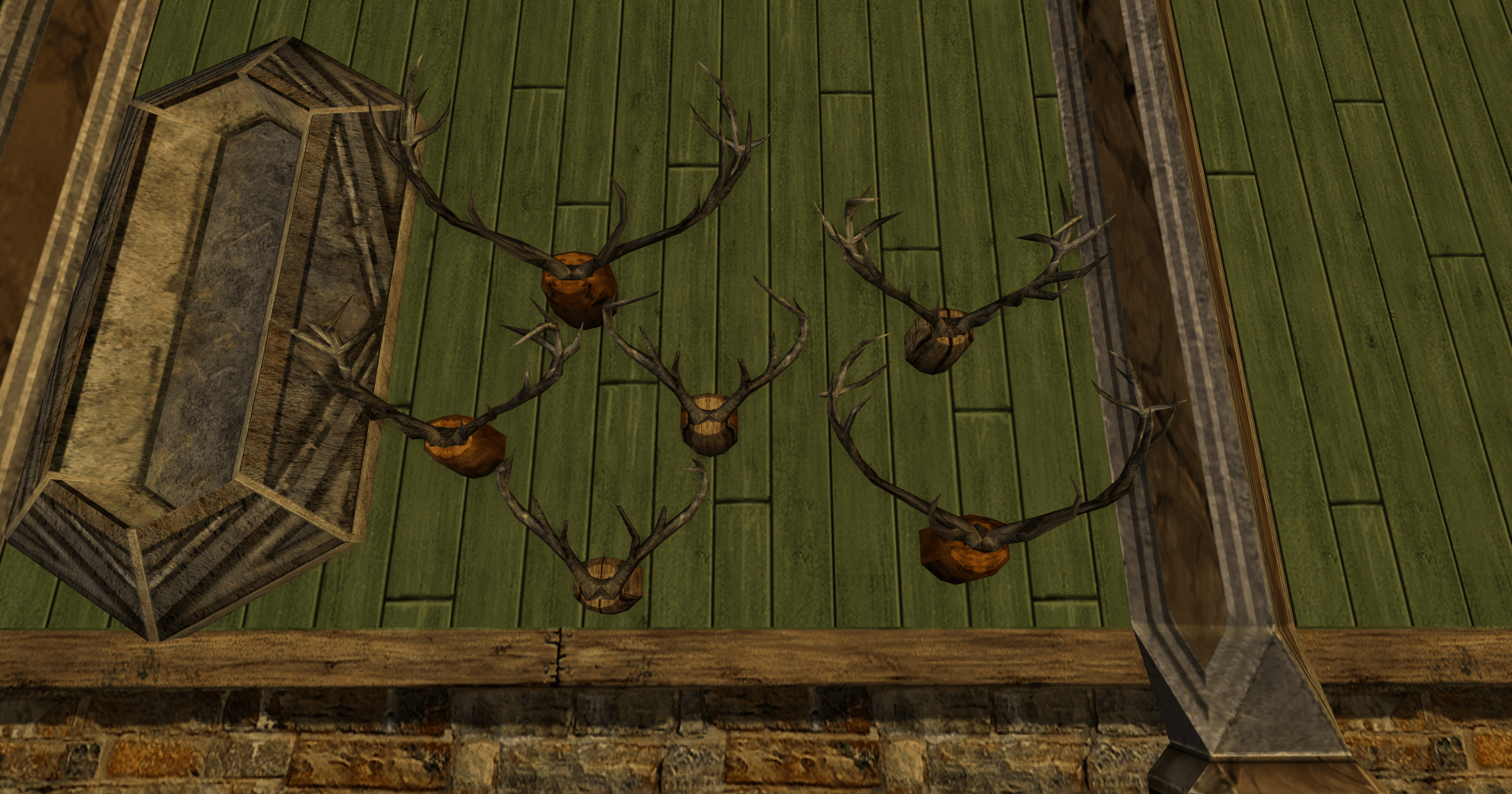 Group of Rohirric Antlers