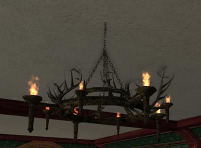 gros chandelier en râmures des R3