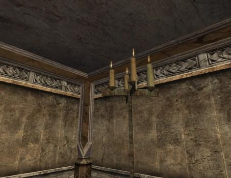 Tall Iron Candlestand