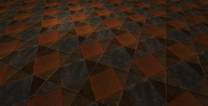 Square Tile Floor