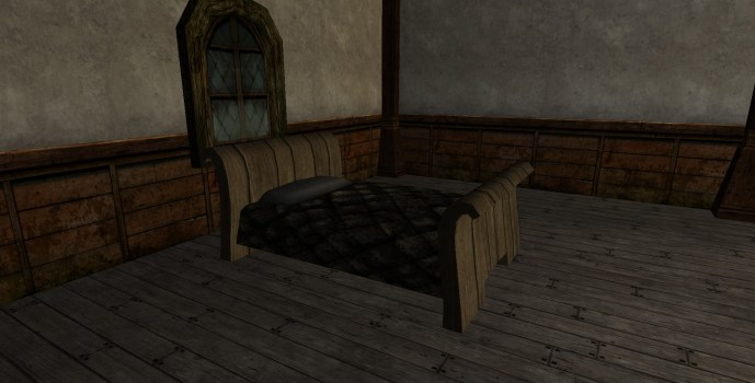 Rounded Bed