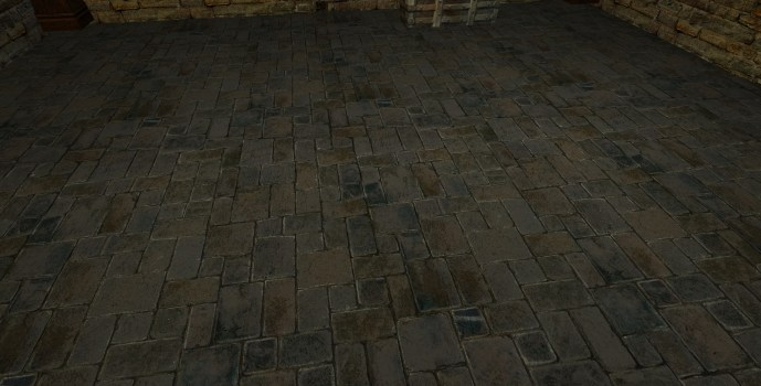 Small Cut Stone Floor