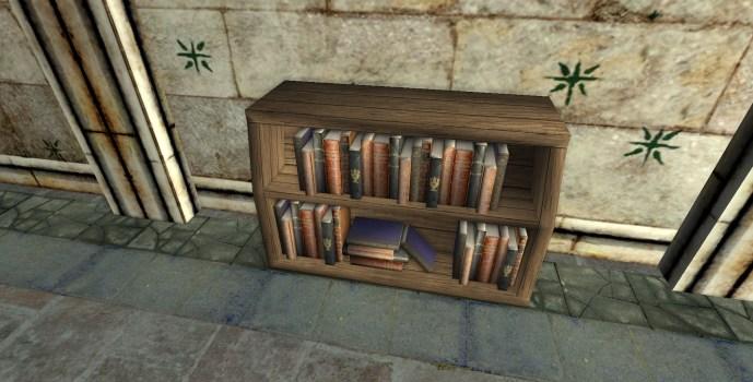 Scholar's Small Bentwood Bookshelf