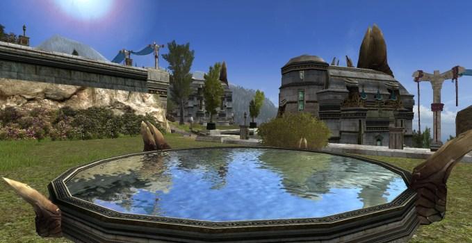 Round Gondorian Reflection Pool