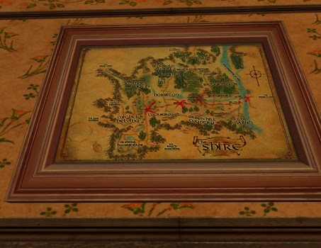 Small Map of Bingo in the Shire
