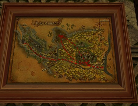 Large Map of Bingo in Lothlórien