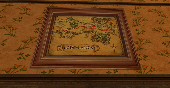 Small Map of Bingo in the Lone-lands