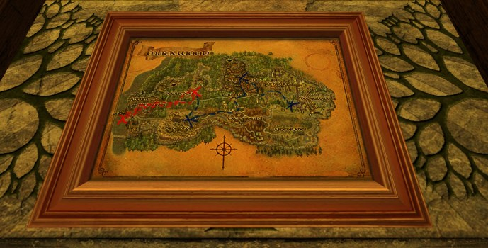 Small Map of Bingo in Mirkwood