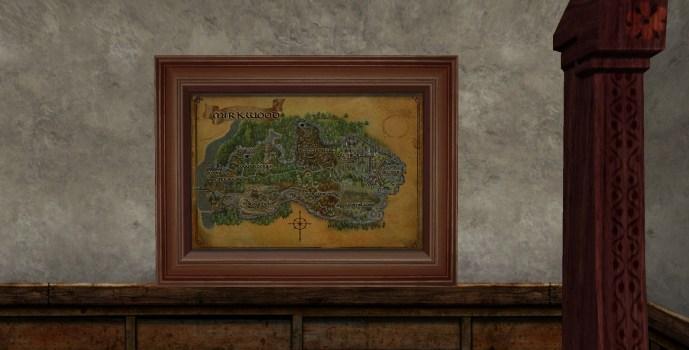 Map of Mirkwood