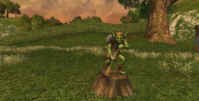 Goblin Statue