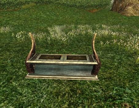 Double-winged Gondorian Bench