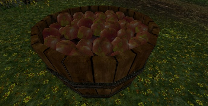 Bingo's Tub of Apples