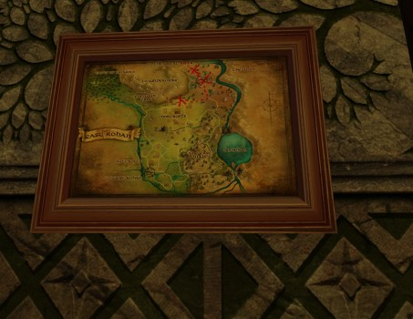 Small Map of Bingo in East Rohan