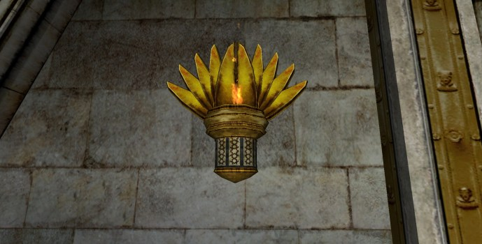 Gondorian Wall Lamp