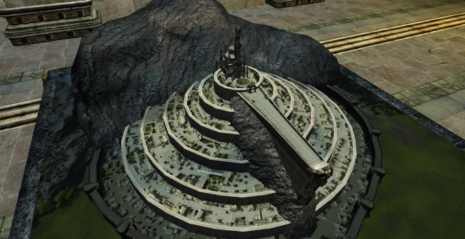 Intact Model of Minas Tirith