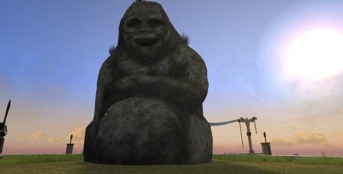 Happy Pukelman Statue
