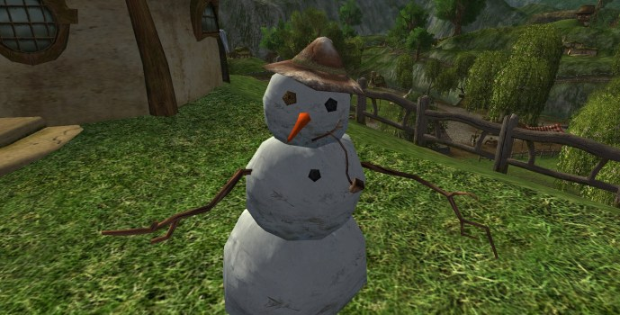 Brown-capped Snowman