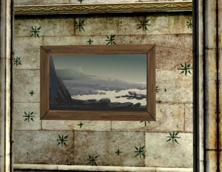 Shore Glimpse Painting