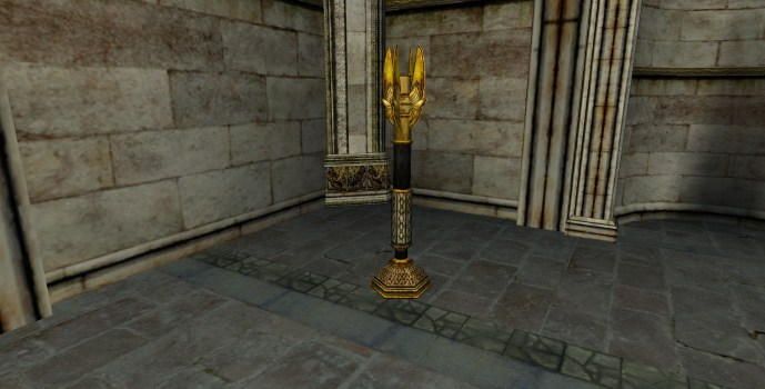 Tall Gondorian Candelabra