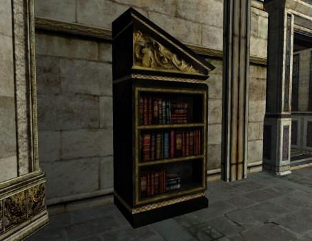 Right-sloped Gondorian Bookshelf