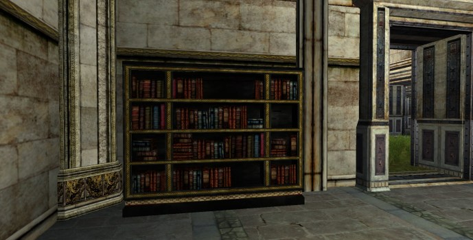 Large Gondorian Bookshelf