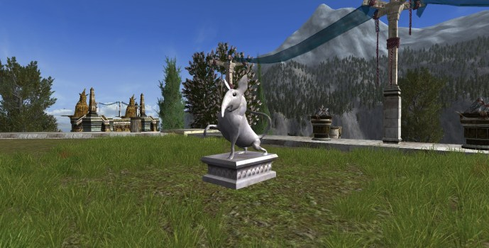 Majestic Shrew Statue