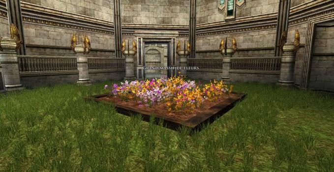 Large Flowerbed