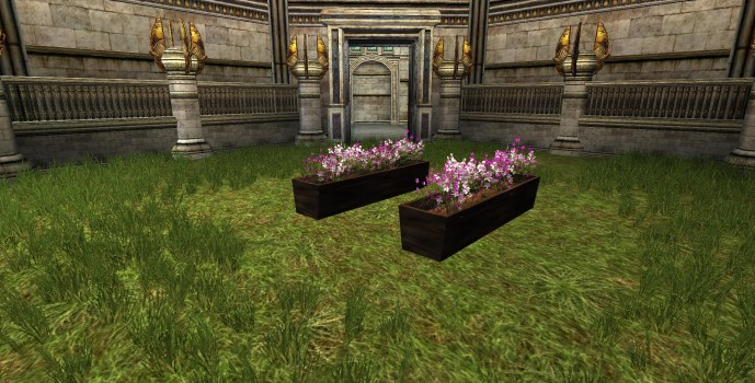 Purple Flowerbox