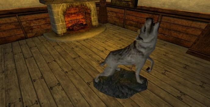 White Wolf Trophy