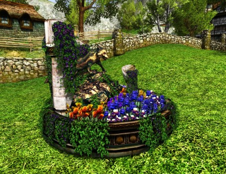 Fox Amongst the Flowers