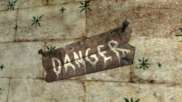 Sign: Danger ! 3