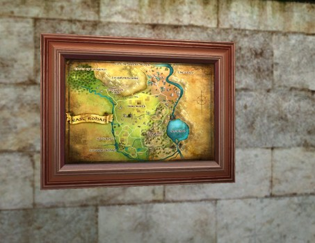 Small Map of East Rohan