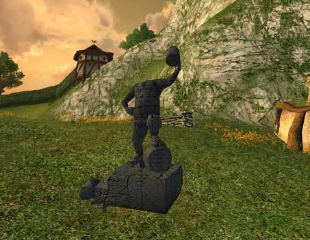 Defiled Inn League Statue