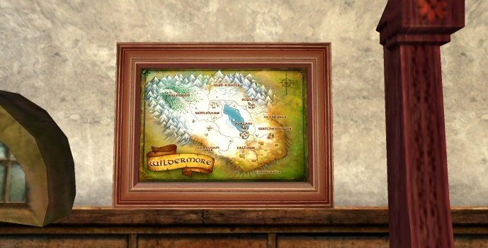 Small Map of Wildermore