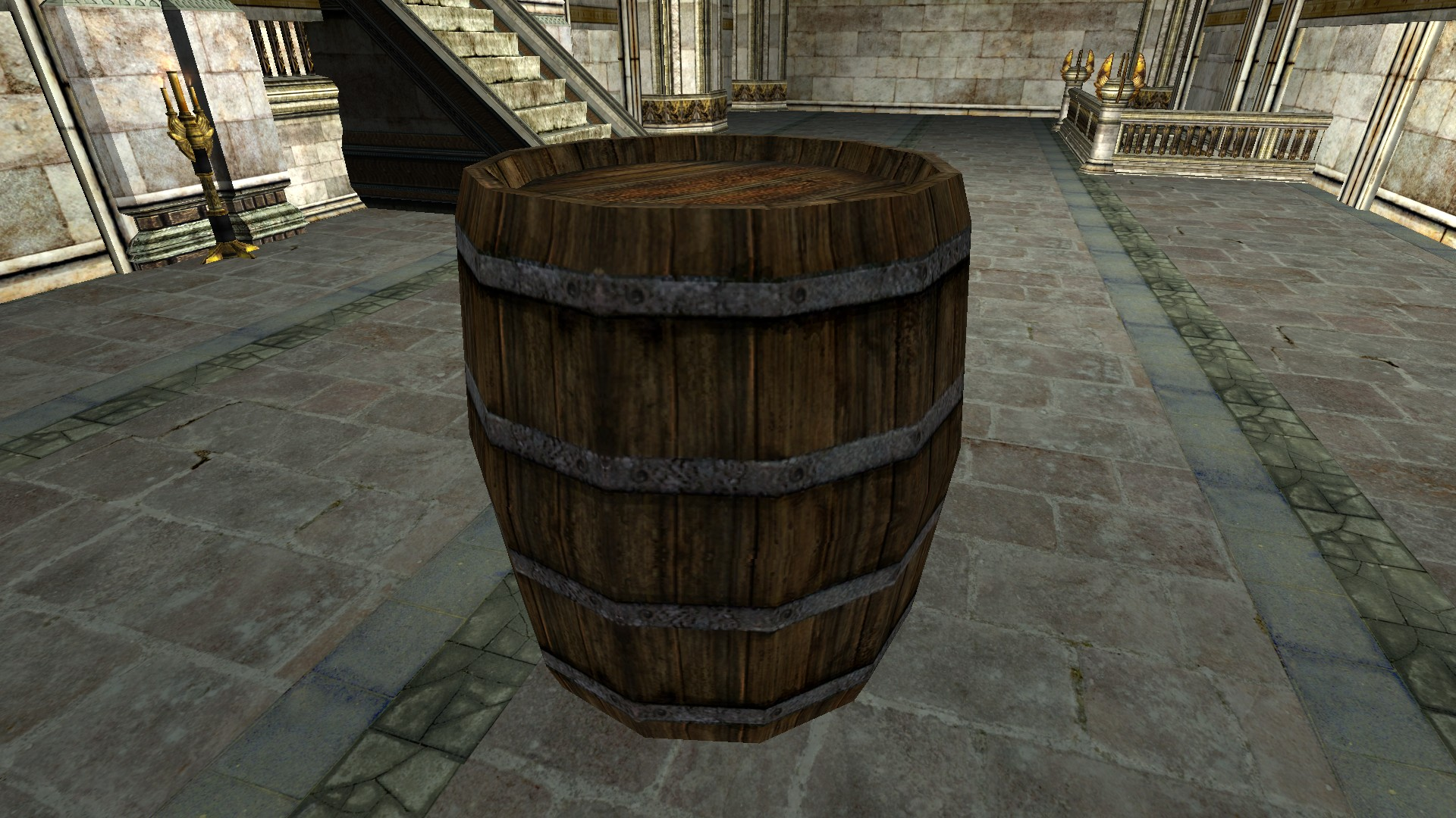 Empty Apple Barrel