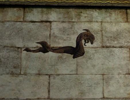 Dragon Wall Carving