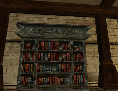 Mordor Lost Lore Bookcase