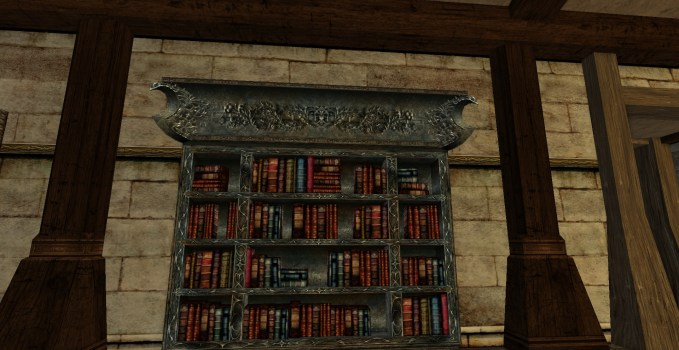 Mordor Lost Lore Bookcase