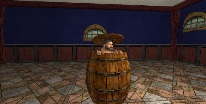Dwarf in a Barrel