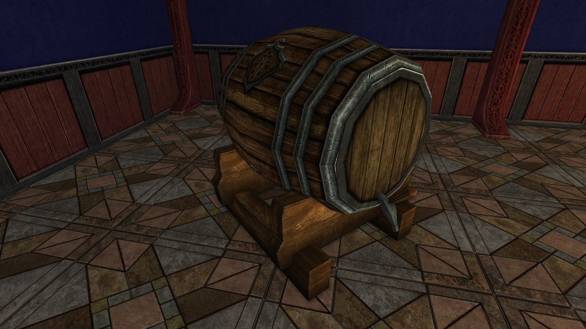 Inn League Decorative Keg