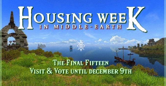 Housing Week in Middle-Earth #7 : The Final Fifteen !