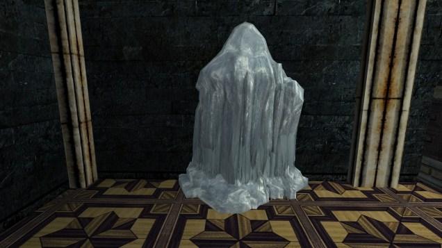 large frozen ice flow 1