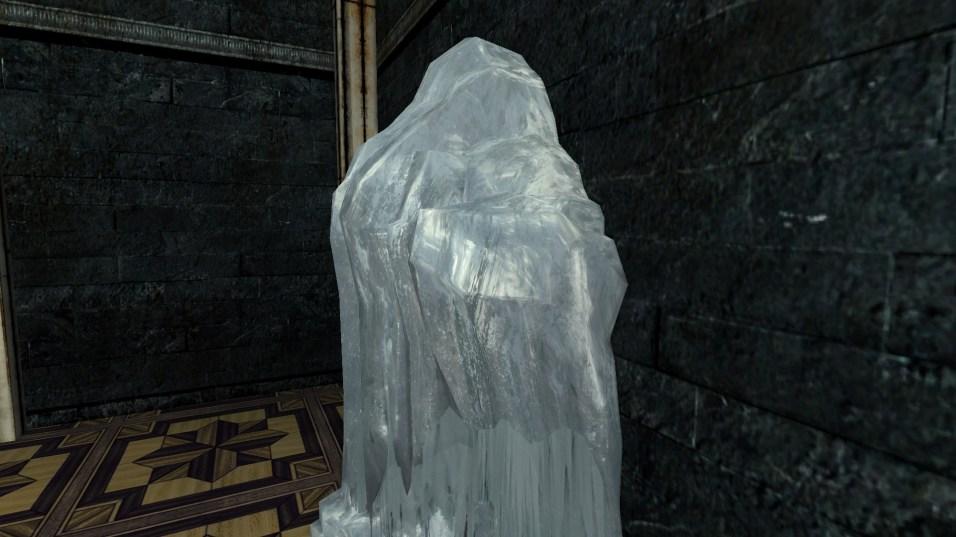 large frozen ice flow 8