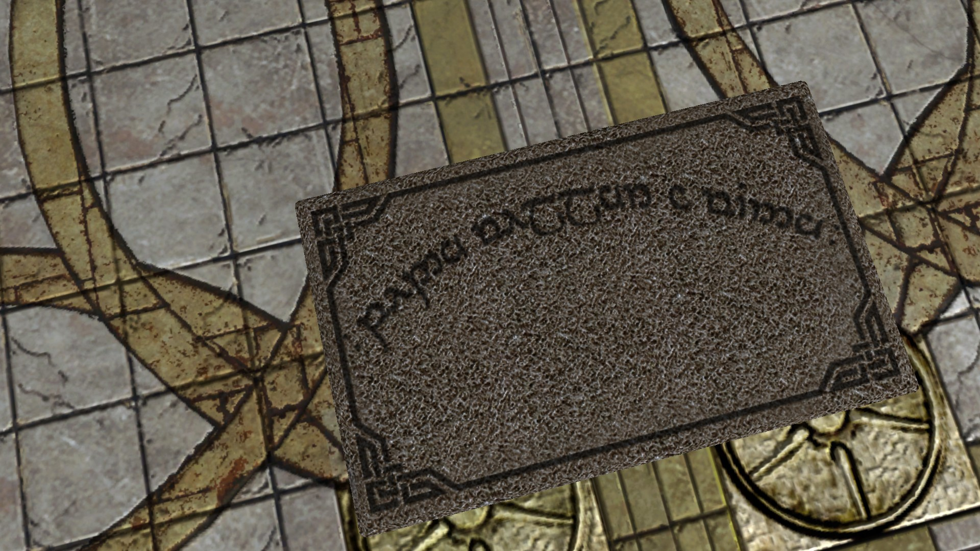 Moria Welcome Mat