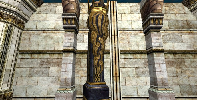 Free-Standing Moria Crown Column