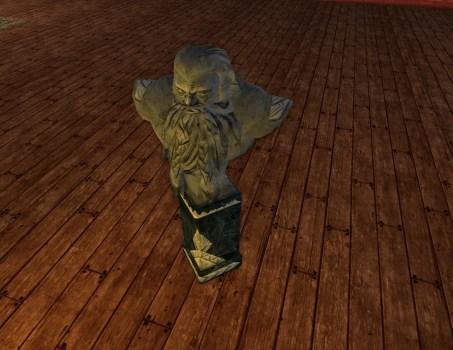 Dwarf-make Library Bust