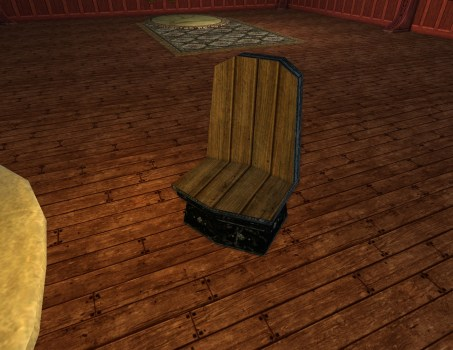 Obsidian Dwarf-make Chair